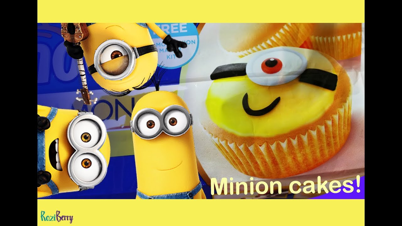 Design Your Own Minion Cupcake Real Food With Minion Maker Kit