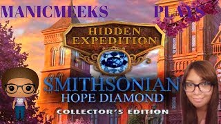 Let's Play Hidden Expedition: Smithsonian Hope Diamond - Part 1 - This Looks Good!
