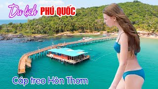 PHU QUOC VIETNAM TRAVEL | Discover World's Longest Cable Car in Hon Thom Nature Park