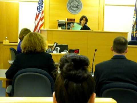 Sentencing of Jackson Mwangi, Rockingham County Superior Court, Mon. June 6, 2011