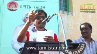 Green Kalam Rally Hosted By Actor Vivek At Marina Beach