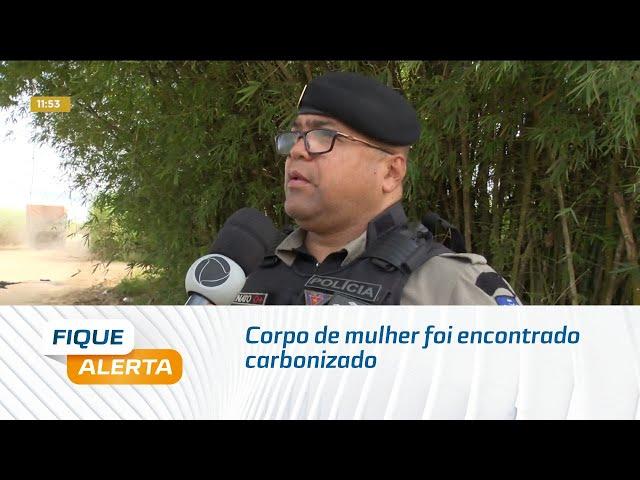 Corpo de mulher foi encontrado carbonizado dentro de geladeira no Pilar
