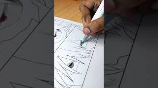 Drawing shoto todoroki eyes🔥