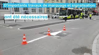 Comprendre le nouveau sens de circulation cours Bosquet en 1 minute