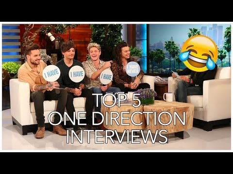 Top 5 One Direction Interviews 2017