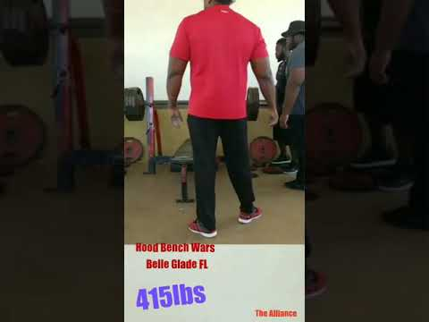 415lbs Bench Press