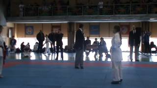 Бой Анны Пчеловой на Кубке в Рославле