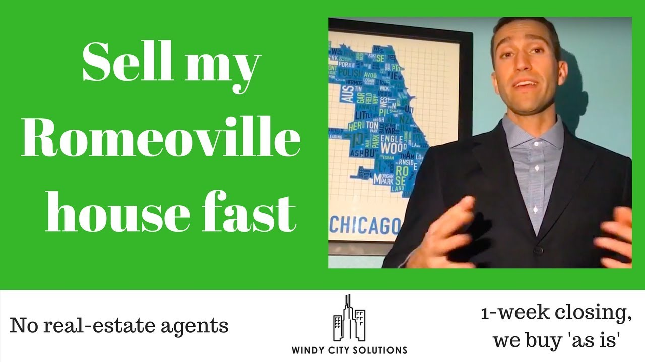 Sell my Romeoville house for fast cash