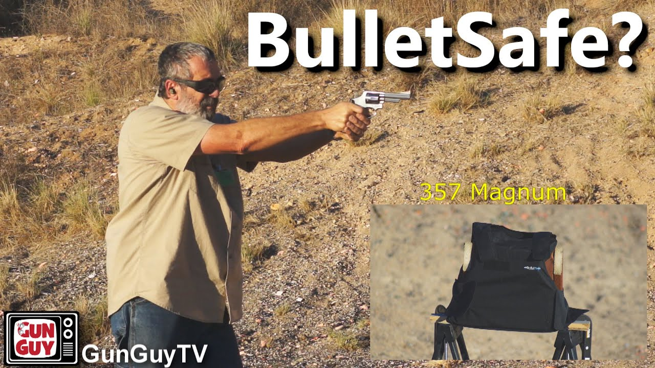 BulletSafe Soft Body Armor Test And Review