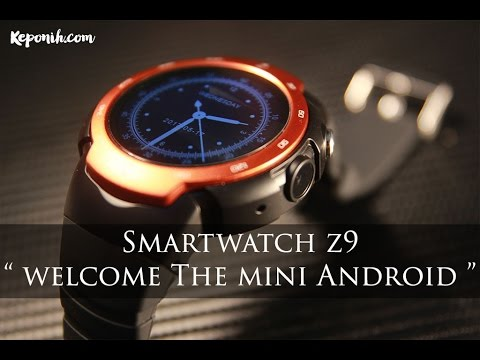 Android Mini dalam bentuk jam tangan, dengan 3G, Wifi, Camera, dan bisa Facebook, Instagram & Game!