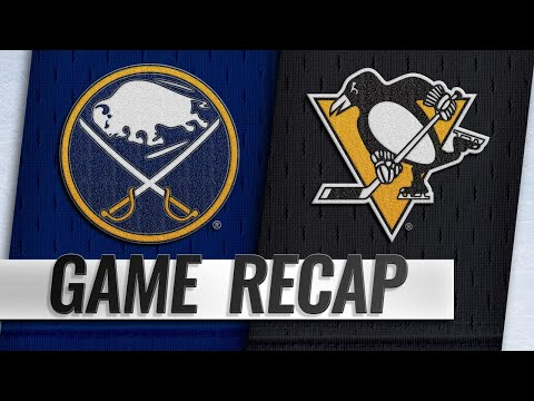 Eichel scores OT winner as Sabres rally to beat Pens