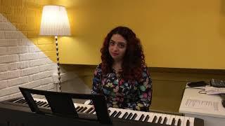 Пример урока вокала онлайн от Асмик
