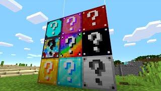 【マイクラ】このラッキーブロックをこわすと何が起こる?【ゆっくり実況】