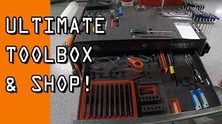Ultimate Machine Shop Toolbox & Organization!