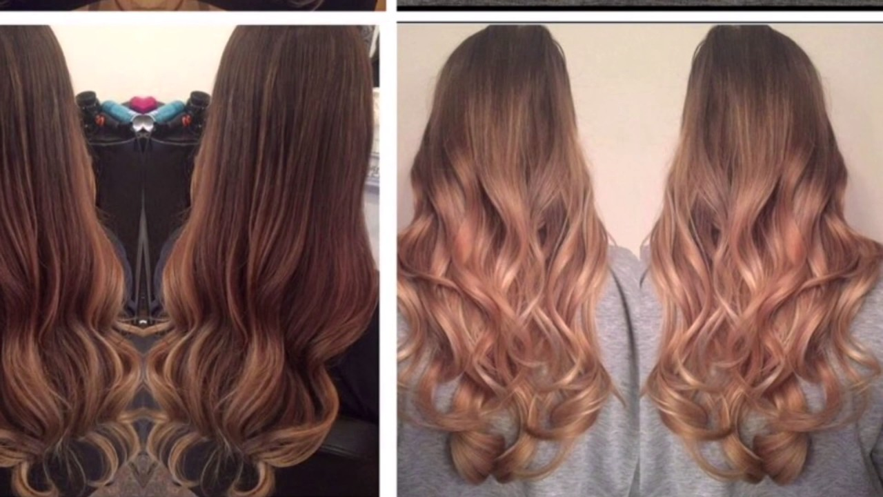 Hair Colour Before And After Ombr Balayage Youtube