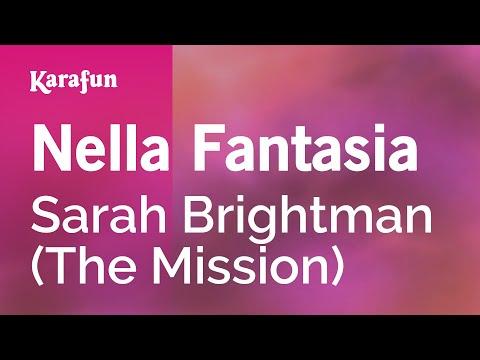 Karaoke Nella Fantasia (The Mission) - Sarah Brightman *