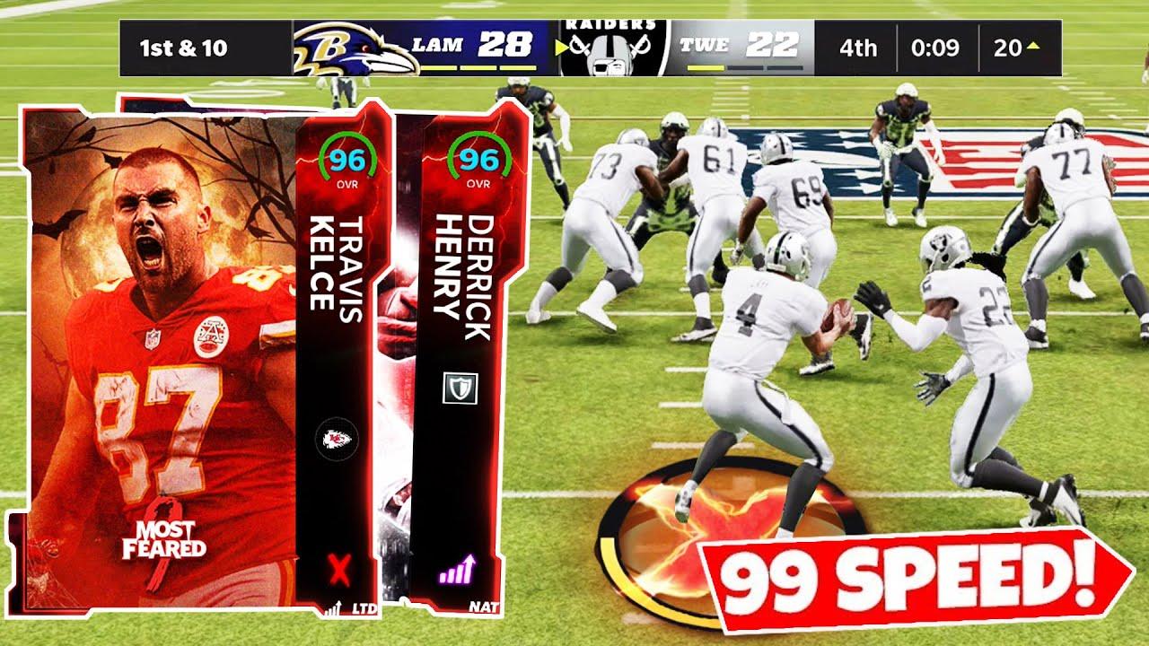 Download I GLITCHED MY TEAM TO 99 SPEED! *INSANE GAME* NFL PICKS - Madden 22