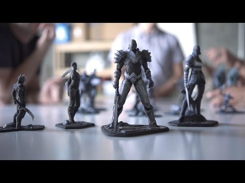 Infinity Blade 3D Printed Collectibles: Behind-the-Scenes