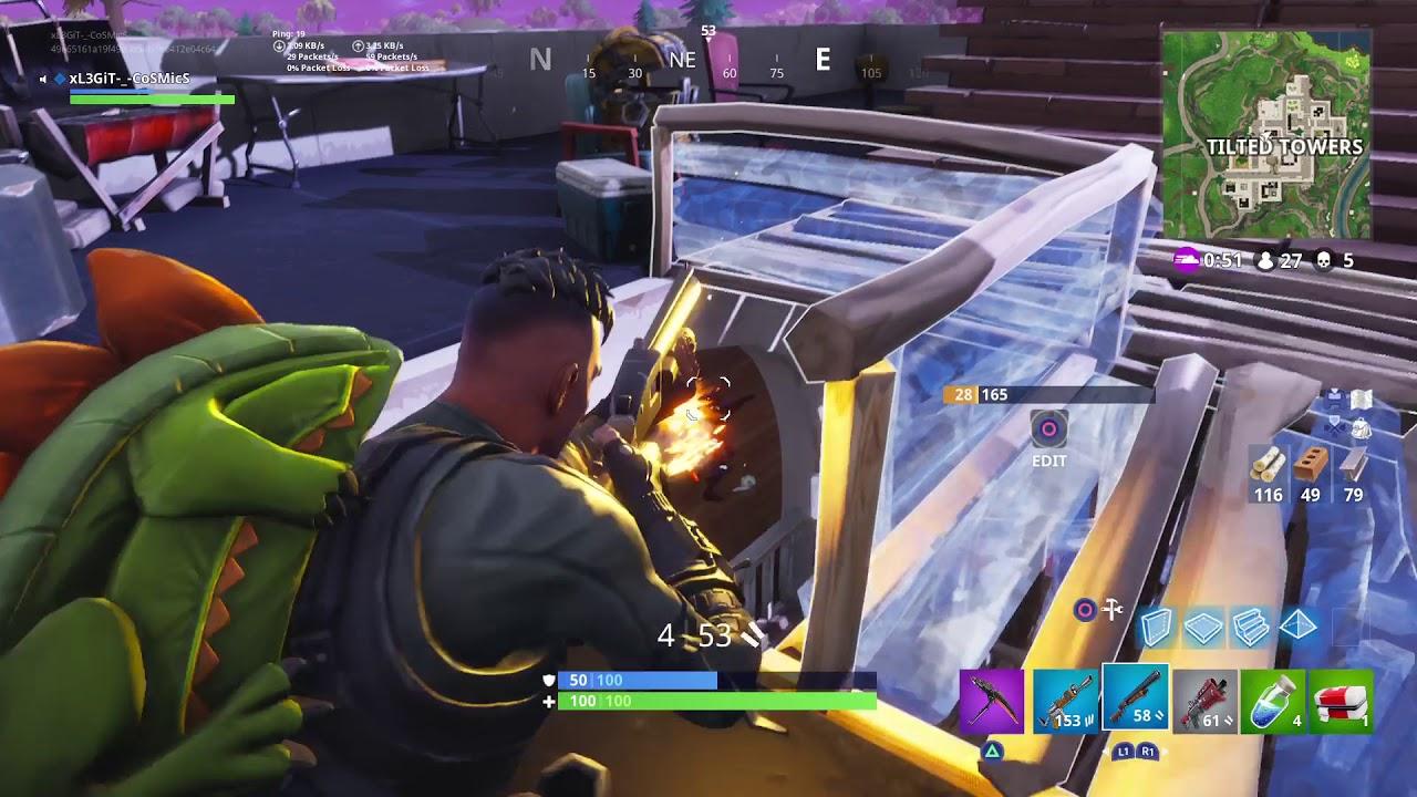 Fortnite Solo, 13 Bomb!
