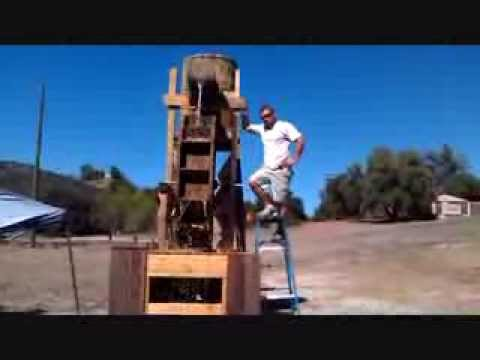 How To Make An Old Western Mining Town Sluice And Mining Area: Part 4