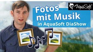 Diashow erstellen | Fotos mit Musik unterlegen in 5 Minuten 🎵 screenshot 1