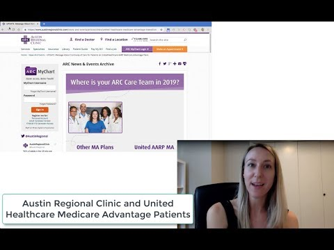 Austin Regional Clinic and United Healthcare Medicare Patients