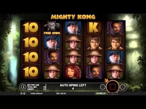 Обзор игрового автомата Mighty Kong (Pragamtic Play)