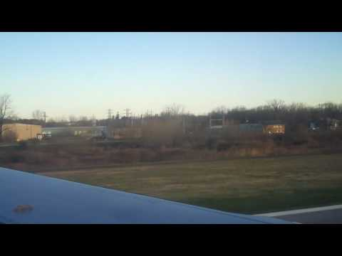 JetBlue #659 a320 takeoff at Greater Rochester International Airport ROC