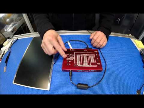 Lst05 How To Test Edp Lcd Screen Youtube