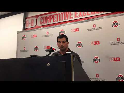 Ryan Day Press Conference: Sept. 3, 2018