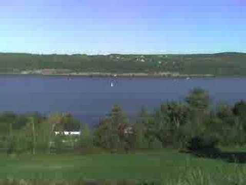 Seneca Lake From Watkins Glen, NY
