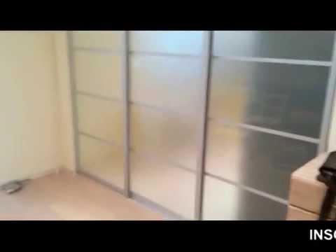 Раздвижная перегородка на кухню пропускает свет