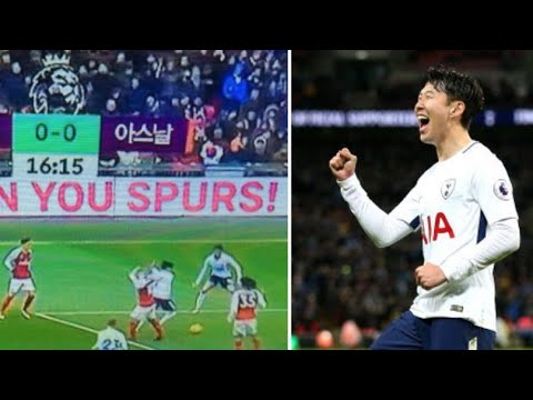 South Korea's Coverage Of The North London Derby Is Pure Gold