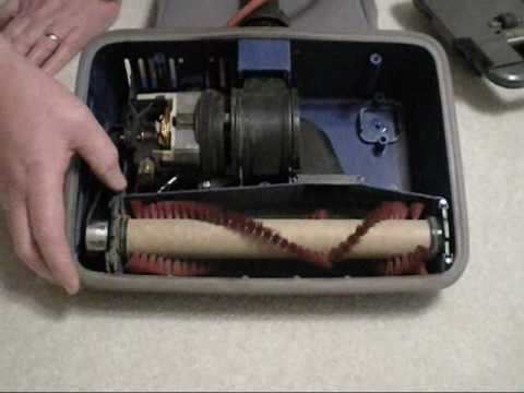 How to Change the Roller Brush in an Oreck Vacuum - YouTube