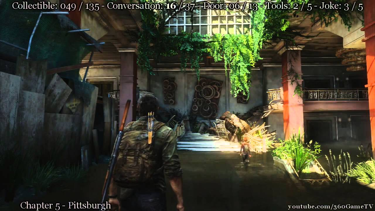 The Last of Us All in One Collectibles incl all Conversation