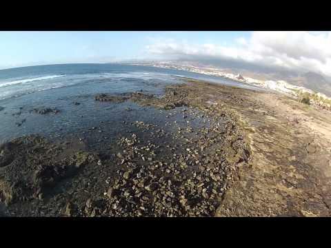 Beach Drone View - Playa de Las Americas - DCT