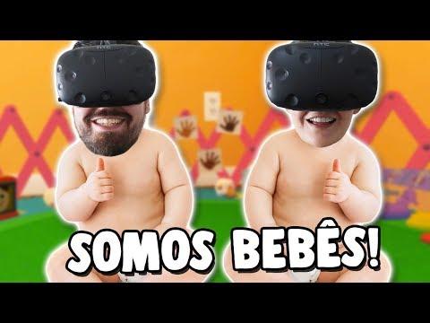 VIRAMOS BEBÊS EM REALIDADE VIRTUAL - Baby Hands VR