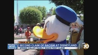 Second family files lawsuit, alleges racism at Disneyland