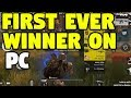 Rules of Survival Gameplay & World FIRST Winner on PC! PC Version is Out Now!