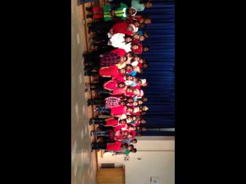 Nishant-Hamlin Charter academy second grade holiday performance 2015!!!