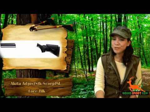Adjustable Hunting Stock, Scorpion Buttpad, Forend, Black Review