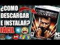 Descargar X-Men Origins - Wolverine para PC Full En Español (Fácil)