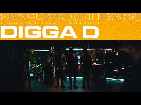 Digga D - Mad About Bars w/ Kenny Allstar (Special) | @MixtapeMadness