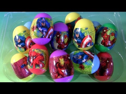 Marvel Easter Eggs Unwrapping The Avengers Iron Man ...