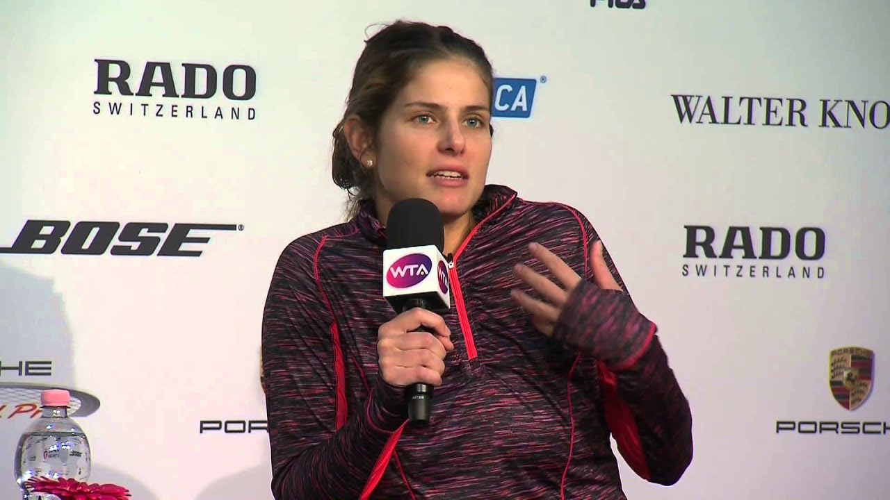Interview Julia Goerges Ger Porsche Tennis Grand Prix
