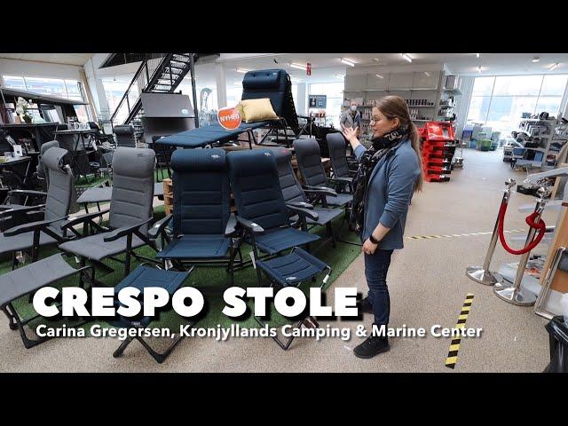 Crespo stole hos Kronjyllands Camping & Marine Center (Reklame)
