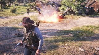 Red Dead Redemption 2 - Insane Action Moments & Epic Ragdolls Compilation #3