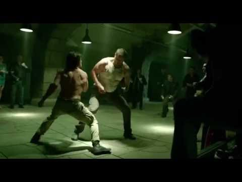 Arrow 5x1 Oliver fights with the  Bratva