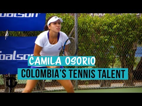 Camila Osorio | Colombia's 15-year-old Tennis Talent | Trans World Sport