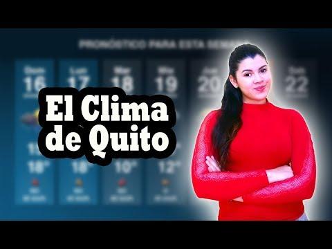 Como es el clima de Quito? | Primer vídeo del 2018 | Iva!!